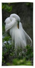 Tree Of Plumes Hand Towel