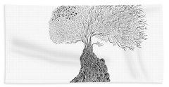 Tree Of Uncertainty Bath Towel