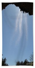 Hand Towel featuring the photograph Tree Root Run-off by Kerri Mortenson