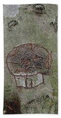 Tree Spirit Bath Towel by Robert Nickologianis