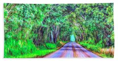 Tree Tunnel Kauai Bath Towel