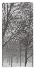 Trees Of Silence Hand Towel