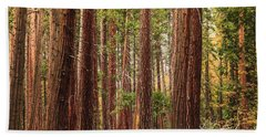 Trees Of Yosemite Hand Towel