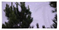 Trees Under The Stars Hand Towel