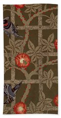 Trellis With Birds Hand Towel