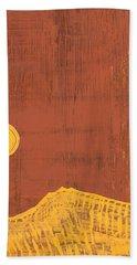 Tres Orejas Original Painting Hand Towel
