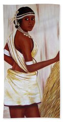 Tribal Girl Bath Towel