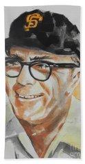 Tribute To Edward Logan My Grandfather  Hand Towel by Chrisann Ellis
