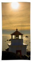 Trinidad Memorial Lighthouse Bath Towel