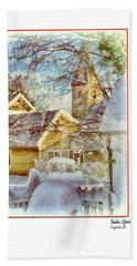 Trinity Episcopal Church In The Snow - Shepherdstown  Bath Towel