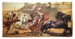 Triumphant Achilles Hand Towel