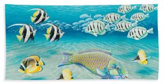 Tropical Fish Hand Towel