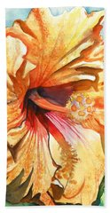 Tropical Hibiscus 3 Hand Towel