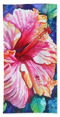 Tropical Hibiscus 4 Hand Towel