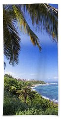 Bath Towel featuring the photograph Tropical Holiday by Daniel Sheldon