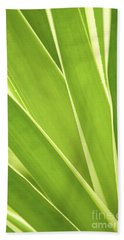 Tropical Leaves Bath Towel