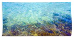 Bath Towel featuring the digital art Tropical Treasures by Anthony Fishburne