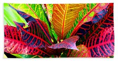Tropicals Gone Wild Naturally Hand Towel by David Lawson