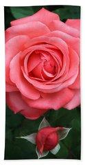 Tropicana Rose Hand Towel