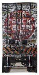 Truck Butts Hand Towel by Blue Sky