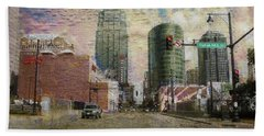 Truman Road Kansas City Missouri Hand Towel by Liane Wright