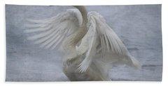 Trumpeter Swan - Misty Display Hand Towel