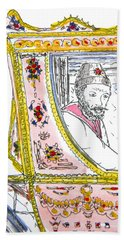 Tsar In Carriage Hand Towel