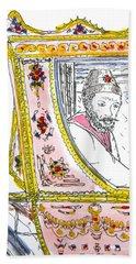Tsar In Carriage Bath Towel