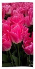 Tulip Festival - 19 Bath Towel by Hanza Turgul