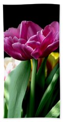 Tulip For Easter Bath Towel by Sharon Talson