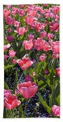 Tulips Bath Towel by Matthias Hauser