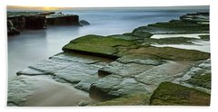 Turimetta Beach Sunrise Hand Towel