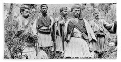 Turkey Insurgents, 1890s Bath Towel