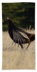 Bath Towel featuring the photograph Turkey by Steven Clipperton