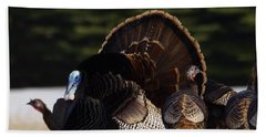 Hand Towel featuring the photograph Turkey's by Steven Clipperton