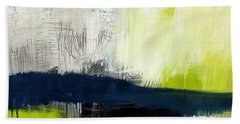 Turning Point - Contemporary Abstract Painting Hand Towel