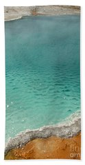 Turquoise Jewels Hand Towel
