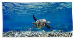Turtle Cruise Hand Towel