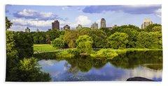 Vista Rock View 2  - Central Park - Manhattan Bath Towel