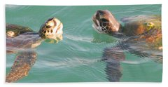 Sea Turtles Talking Hand Towel