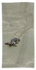 Turtle Tracks Bath Towel
