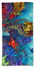 Turtle Wall 2 Bath Towel