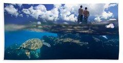Turtles View Bath Towel