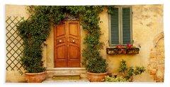 Tuscan Front Door Bath Towel