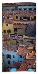 Tuscan Rooftops Hand Towel