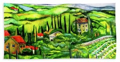 Tuscan Valley Bath Towel
