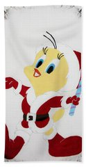 Tweety Christmas Bath Towel