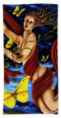 Twilight Flight Bath Towel