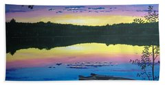 Twilight Quiet Time Bath Towel by Norm Starks