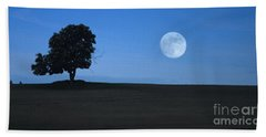 Twilight Solitude Bath Towel by Sharon Elliott